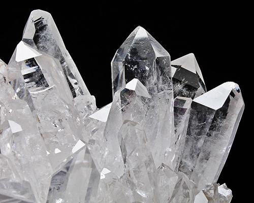 アーカンソー州産水晶クラスター